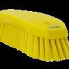 Vikan handborstel geel 20cm 38906